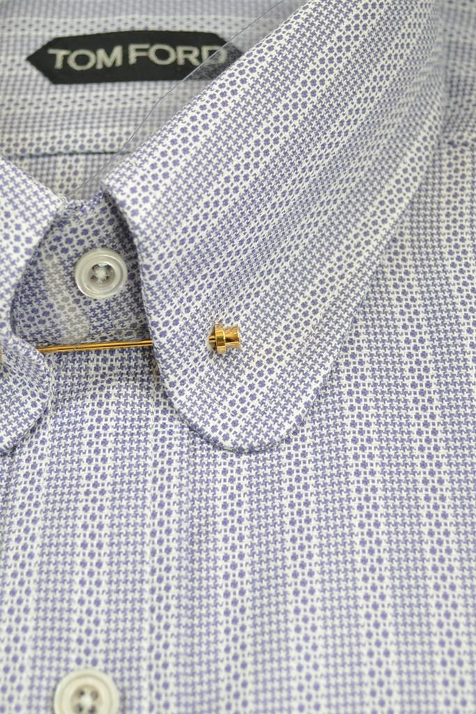 Men designer shirts tom ford dress shirts dress shirts for Pin collar shirt double cuff